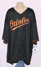 Baltimore Orioles Majestic Big & Tall Replica Jersey Black 2XL