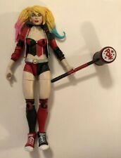 Rare 2017 Mattel DC Comics SuperHero Girls HARLEY QUINN Action Figure w/Mallet