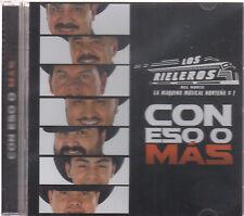 CD - Los Rieleros Del Norte NEW Con Eso o Mas BRAND NEW SEALED !