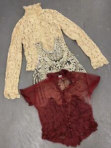 Wholesale Vintage Retro Lace Style Blouse Tops X 50