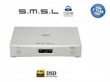 SMSL m8 2nd Gen. DSD-DAC 768khz digit. Conv ANALOGICO USB poiché CONVERTITORE Highend-Sabre