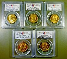 Lot 5 2007-P James Madison Presidential Series $1 Position B PCGS SATIN FIN MS68