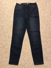Womens MAX STUDIO Indigo Silas Wash High Rise Skinny Denim Ankle Jeans 6