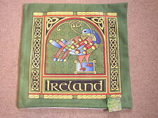 Celtic Peacock Cushion Cover, Large