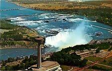 Skylon Niagara International Centre Niagara Falls Canada aerial view Postcard
