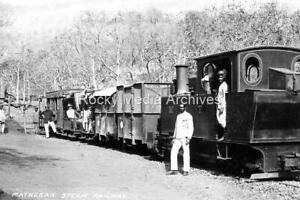 Vkw-21 Narrow Gauge Steam Railway, Matheran Hill, Maharashtra, India. Photo