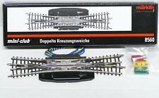 Märklin 8560 Z - Doppelkreuzungsweiche r323mm NEU & OVP