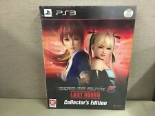 NEW PS3 DEAD OR ALIVE 5 Last Round Limited Collectors Edition BOX set JAPAN F/S