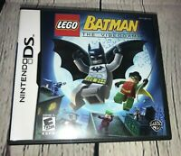 LEGO Batman: The Videogame (Nintendo DS, 2008) Complete, Case, Book and Game
