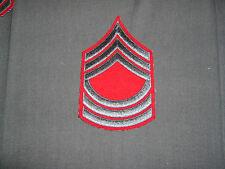 WW2 USMC master sergeant chevron embroidered on wool winter service