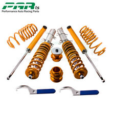 BR Adjustable Coilovers Kit for VW Golf MK4 2WD only A4 1998-2005 Coil Springs