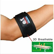 IRUFA 3D Breathable Tennis Golfer Elbow Barce Strap Support Wrap with Silicone