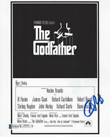 ALBERT S. RUDDY SIGNED THE GODFATHER MOVIE PRODUCER 8x10 PHOTO 2 BECKETT COA BAS