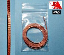 JPSLOT - COPPER BRAID 1m SUPER EXTREME RACING - TRENCILLA COBRE 1:32 - 1:24