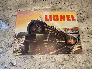 Lionel 1948 Catalog Very Good Condition Postwar Lionel