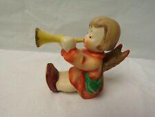 Hummel Goebel 238C Angel playing Horn Trumpet figurine 1967