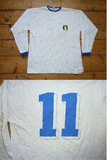 ITALY FOOTBALL SHIRT XL ITALIA 1980 Scoredraw original Soccer CAMISETA MAGLlA