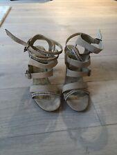 Nika Love Art Wear Art Strappy Sandals