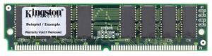 32MB Kit (2x16MB) Kingston Ps/2 Edo Simm Memory Single Sided 5V Np KTZ0455/32