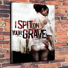 """I Spit On Your Grave Printed Box Canvas  A1.30""""x20""""Deep 30mm Frame Video Nasty.2"""