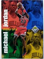 1998-99 Upper Deck UD Choice Michael Jordan #200, Checklist, Chicago Bulls, HOF