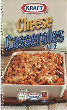 KRAFT CHEESE CASSEROLES & MORE Cookbook PASTA Side DISHES Dip APPETIZERS Entrees