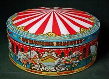 Vintage Sunshine Biscuit Carousel Tin