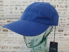 Armani Jeans 06481 Casquette De Baseball Homme cappello Casquette bleue SPORT Caps BNWT RRP £ 55
