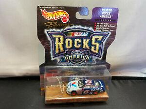 Hot Wheels NASCAR Rocks America Mark Martin Ford Taurus & Guitar 1/64 Diecast