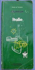 Guide Vert Michelin Italie, 1989, 2è édition, 284 p, bon état