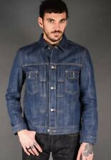 Pure Blue Japan Indaco naturale tipo 2 Giacca di Jeans | Taglia L | esaurita
