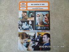 CARTE FICHE CINEMA 2002 MA CAMERA ET MOI Zinedine Soualem Julie Gayet