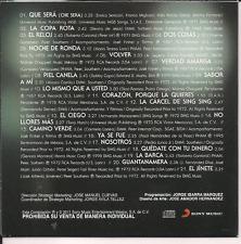 rare bolero BALADA CD slip JOSE FELICIANO Copa rota RELOJ piel canela SABOR A MI