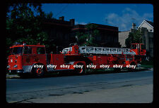 Pittsburgh PA T14 1976 Seagrave 100' TDA Fire Apparatus Slide