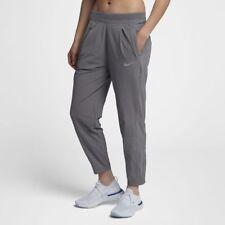 Women Nike Run Division Running Pants 923416 036 SIZE L Gunsmoke Gray