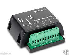 3-canal receptor ht3e+2x 5-canal transmisor ht5s paquete! webasto stand calefacción!