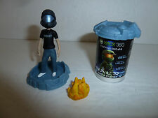 Halo Avatar Mini Figure gamer w/ ODST shirt helmet UNSC blind bag McFarlane Toys