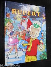 SIGNED JOHN HARROLD RUPERT ANNUAL 1992 - Children's Classic Illustrated Fantasy