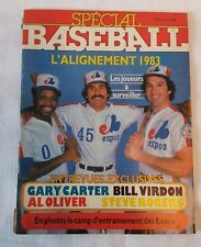 MLB Montreal Expos 1983 magazine special baseball Gary Carter and others