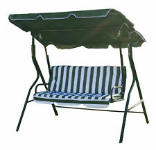 Swinging Garden Hammock Swing Chair, Outdoor Bench Seat Seater Lounger Set NEW