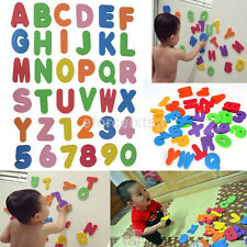 36PCs/Bag Children Bath Shower Foam Letters Numbers Educational Baby Toy Sticker