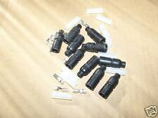 10 MILITARY TYPE ELECTRICAL CONNECTORS MALE 14 GAUGE