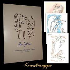 Jean Cocteau - Kunstmappe (Zeichnungen Lithographien Plakate; Worpsweder Verlag)