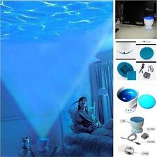 Night Light Projector Mini Speaker Lamp Baby Care Ocean Sea Daren Waves
