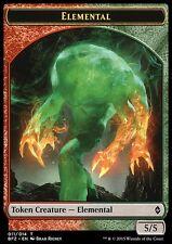 PEDINA ELEMENTALE ROSSO VERDE - [ELEMENTAL TOKEN] (RED/GREEN) Magic BFZ Mint