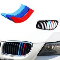 Für 3er E90 E91 M-Color ABS Grill Stripes Streifen Nieren Kühlergrill Sticker