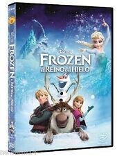 FROZEN EL REINO DEL HIELO DVD NUEVO ( SIN ABRIR ) DISNEY EDICION ESPAÑOLA