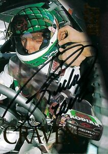 RICKY CRAVEN KODIAK #41 autographed PRESS PASS VIP 1995 PACK PULLED INSERT CARD