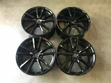 "18"" VW Golf R Pretoria Style Alloy Wheels Gloss Black Golf MK5 MK6 MK7 MK7.5"