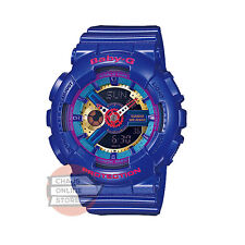 Casio Baby-G BA-Series Purple Analog Digital Watch Resin Band BA-112-2A- New